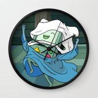 bmo Wall Clocks featuring BMO by RbMachado