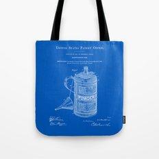 Gunpowder Can Patent - Blueprint Tote Bag