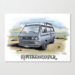 @puckvancamper Canvas Print