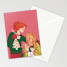 Hollence & Christmas Sweaters Stationery Cards