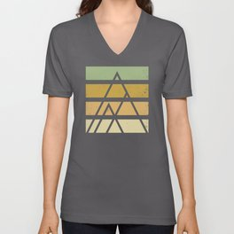 Desert color landscape Unisex V-Neck