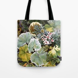 Geraniums Galore Tote Bag