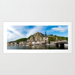 Dinant Panorama Art Print
