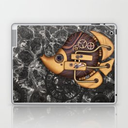 Steampunk Butterflyfish Laptop & iPad Skin