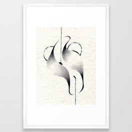 Feminine Form Framed Art Print