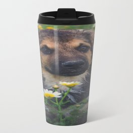 Hulk among daisies Travel Mug