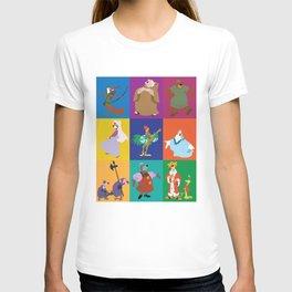 Robin Hood characters T-shirt