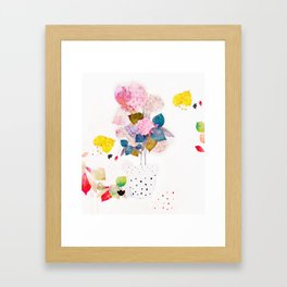 Joni Framed Art Print