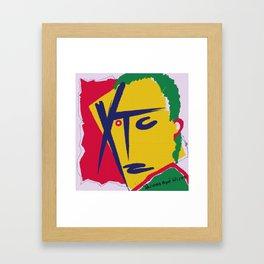 XTC Framed Art Print