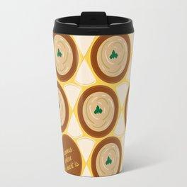 Hummus where the heart is Travel Mug