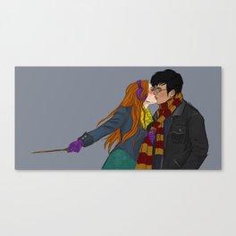 Winter Hinny Canvas Print