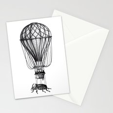 Discovery (black on white) Stationery Cards