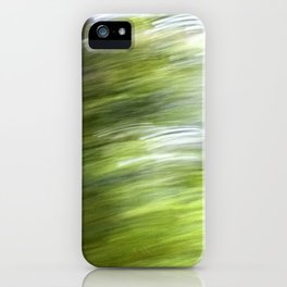 Rainy Day Motion 1 iPhone Case