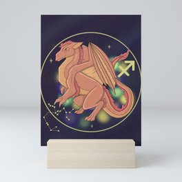 Sagittarius - Zodiac Dragons Mini Art Print