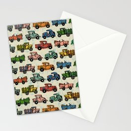 Cars and Trucks Stationery Cards