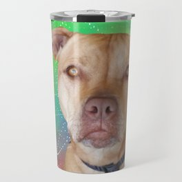 I Love My Pit Bull Travel Mug