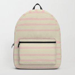 Pink Summer Stripes Backpack