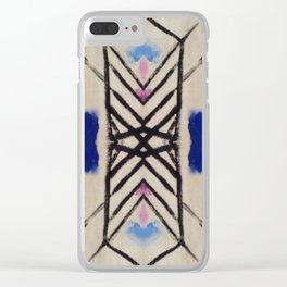 Stretched out Clear iPhone Case