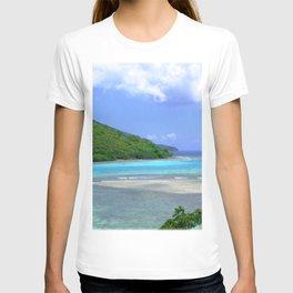 Watercolor Landscape, St John 14, USVI T-shirt