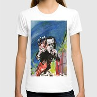 nick cave T-shirts featuring Nick Cave Red Right Hand by Caitlyn Shea