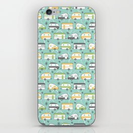 Happy Campers iPhone Skin