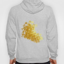 Gold abstract Hoody