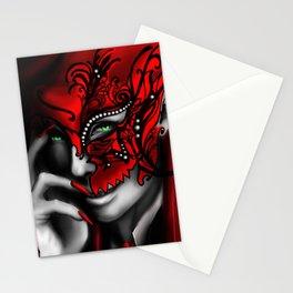 Fabulously Masked Stationery Cards
