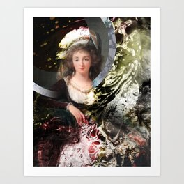 A Woman of Substance Art Print