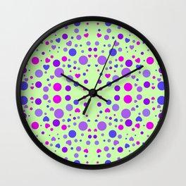 CIRCLES AND HEARTS Wall Clock