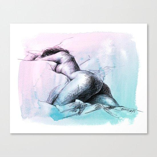 Nude female 3 Canvas Print