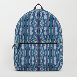 Watercolor Tribe Vibes Indigo Backpack