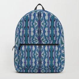 Watercolor Tribe Vibes Indigo Backpack