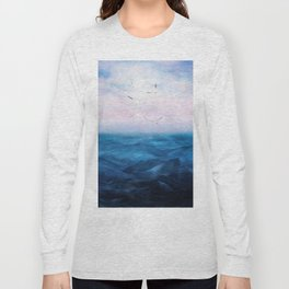 Watercolor Sea 5 Long Sleeve T-shirt