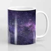 cosmic Mugs featuring Cosmic by Marta Olga Klara