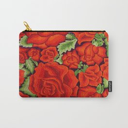 Rosas Rojas Carry-All Pouch