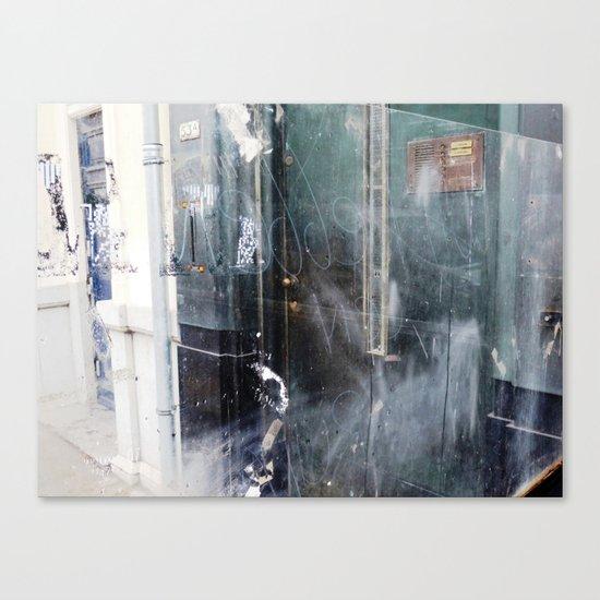 Dirty Window 10 Canvas Print
