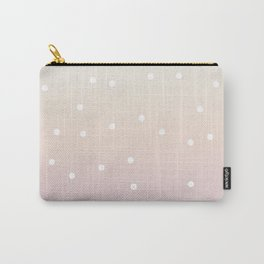 Polka dot candy floss  skies Carry-All Pouch