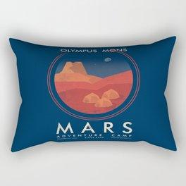 Mars adventure camp Rectangular Pillow