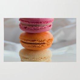 The Art of Food Macarons Rug