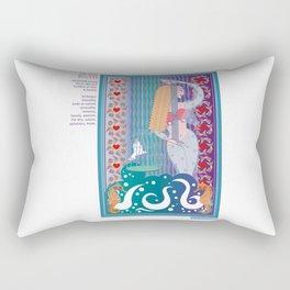 Women of the Myth Series: Aphrodite-Venus Rectangular Pillow