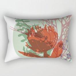Angelica La Fleur Rectangular Pillow