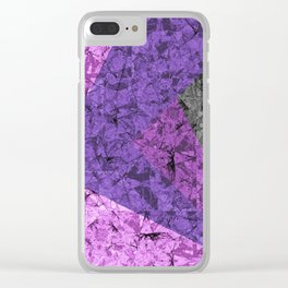 Marble Texture G428 Clear iPhone Case