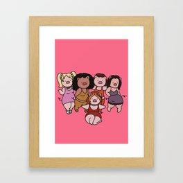 spice piggies Framed Art Print