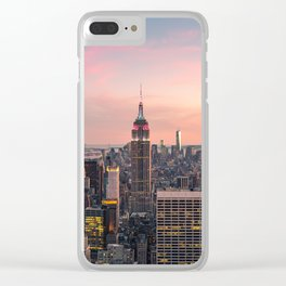 NEW YORK CITY 17 Clear iPhone Case