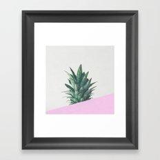 Pineapple Dip Framed Art Print