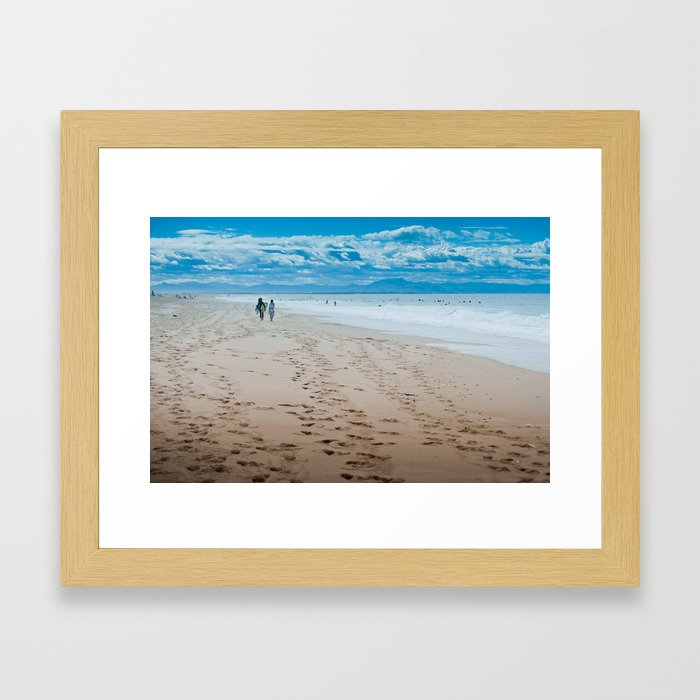 Hossegor- France - 2013 Framed Art Print