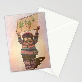 Mensaje de niño Stationery Cards
