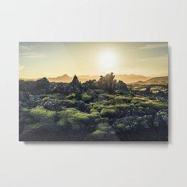 Lava Field III Metal Print