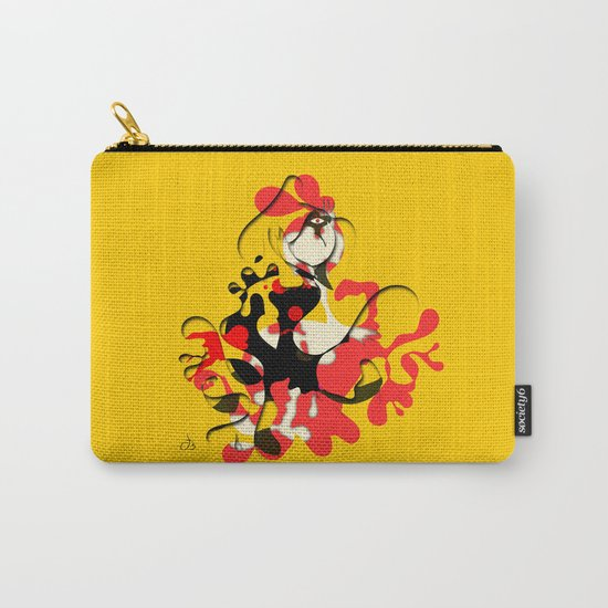 Flamenco Dancer Abstract Carry-All Pouch