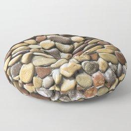 Wall pebble pattern Floor Pillow